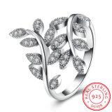 925 Sterling Silver Plant Shape Beautiful Western Ring Fashion Jewelry