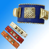 Fashion Jewelry/Bracelet/ Leather Jewelry/ Leather Bracelet (XJW1629)