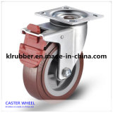 5 Inch Nylon Total Brake Swivel Castor