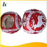 Hot Wholesales Different Printing Wide Mouth Glass Christmas Candleholder
