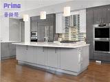 2014 China New White High Gloss Kitchen Design Philippines