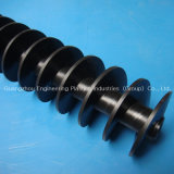 Engineering Plastic Nylon Screw by CNC Lathe