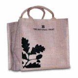 Custom Promotional Environmental Protection Eco Jute Bag with Handle
