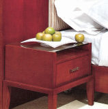 Hot Wholesale Wooden Hotel Bedroom Side Table Furniture