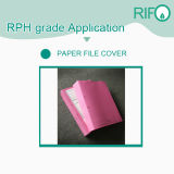 Tear Resistant Folder Cover BOPP Synthetic Paper with MSDS RoHS