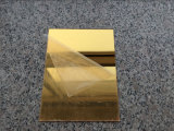Good Quality Golden or Silver Acrylic Sheet From Jinan Alands