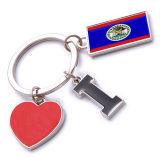 New Custom Metal Souvenir Belize Keyring