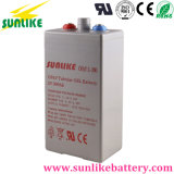 Rechargeable Gel Opzv Battery 2V250ah for Power Supply