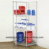 Modern Chrome Pentagon Corner Storage Rack for Home Use (CJ6868120A4C)