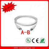 USB 2.0 Extension Cable Am - Bm Cable 10ft