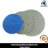4 Inch Diamond Granite Dry Polishing Pad