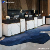 Modern Office Receiption Desk Commercial Reception Counter Design