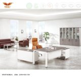 Hot Sale Office Furniture Executive Melamine Office Desk Office Table with Metal Leg (H70-0174)
