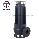 Wqas Submersible Sewage Electric Pump with Cutting Impeller
