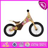 2014 New Wooden Kids Balance Bike, Play Children Balance Bike Wooden Bike, Bike Wheel Balancer, Cute Baby Balance Bike Toy W16c085