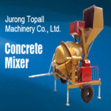 Hand Feed Loading Diesel Concrete Mixer with Hydraulic Hopper