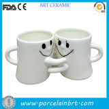 Cute Ceramic Couple Mug Cup for Gift