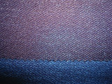 Indigo Blue Rib Stretch Jersey Denim