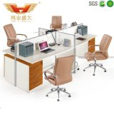 Cheap Price 4 Seaters 4 People Workstation Design