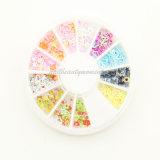 Wholesale Nail Art Shapes Decoration Wheel Accessories (D20)