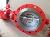 Triple Eccentric Flange Butterfly Valve ANSI150