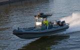 Aqualand 27feet 8.3m Fiebrglass Rib Inflatable Boat/Rigid Boat (RIB830A)