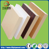 Commercial Fiberboard Matte White Melamine Laminated Plywood MDF Board