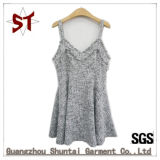 Custom Made Elegant Dress Sleeveless Sling Lady Short Dress