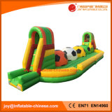 Inflatable Running Football Tunnel/ Inflatable Wipe Outsport Toy (T9-252)