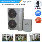 Amb Air Temp. -20c Winter Using 55c Hot Water 12kw/19kw/35kw Evi Tech. Auto-Defrost R407c House Heating Heat Pump Water Heater