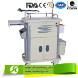 Hospital Furniture Cheap Medical ABS Device Nursing Trolley
