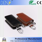 Car Logo Leather Fob Key Case Remote Covers