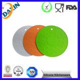 Customized Round Heat Insulation Silicone Trivets Pot Holder