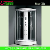 Simple Hydro Massage Glass Steam Shower Room (TL-8815)