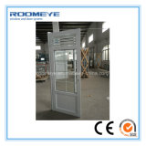Roomeye Most Popular Best Selling PVC Casement Door with Aluminium Louver