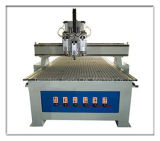 Pneumatic Three Heads CNC Atc Router with Vacuum System
