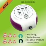 Portable 6 Vacuum Cup Breast Enlargement Therapy Machine H-2018