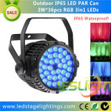 Waterproof LED PAR Can 36PCS*3W RGB Edison LEDs for LED Disco Light