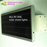 30W Solar Integrated Solar Street Light with Camera, with PIR Sensor