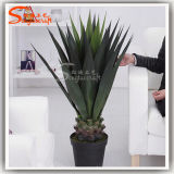 Plastic Product Agave Sisalana Artificial Bonsai Plants