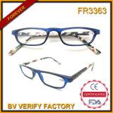 Fr3363 New Spectacles Design Plastic Shinny Brown Frames