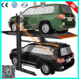 Ce Hydraulic Two Post Double Deck Parking Equipment