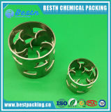 50mm Metal Pall Rings Metallic Random for Tower Packing