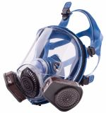 Resuable Dual Cartridge Dust/Gas Mask Respirator