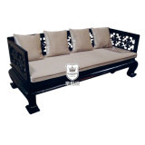 Mysterious Eastward Style Solid Wood Sofa Set