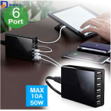 USB Adapter Charger with Six Ports (LCK-MU017)