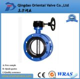 Full Flanged Type Price Butterfly Valve Butterfly Valve Gear Operator
