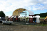 8m Wide Container Shelter Container Canopy Tent Container Cover Tsu-2620c/2640c)