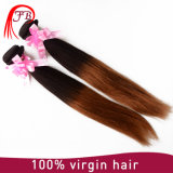 100% Virgin Human Hair 1b/33 Two Tone Remy Hair Extension