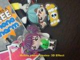 Fashion Cartoon Cell Phone Socks and MP3 Sock